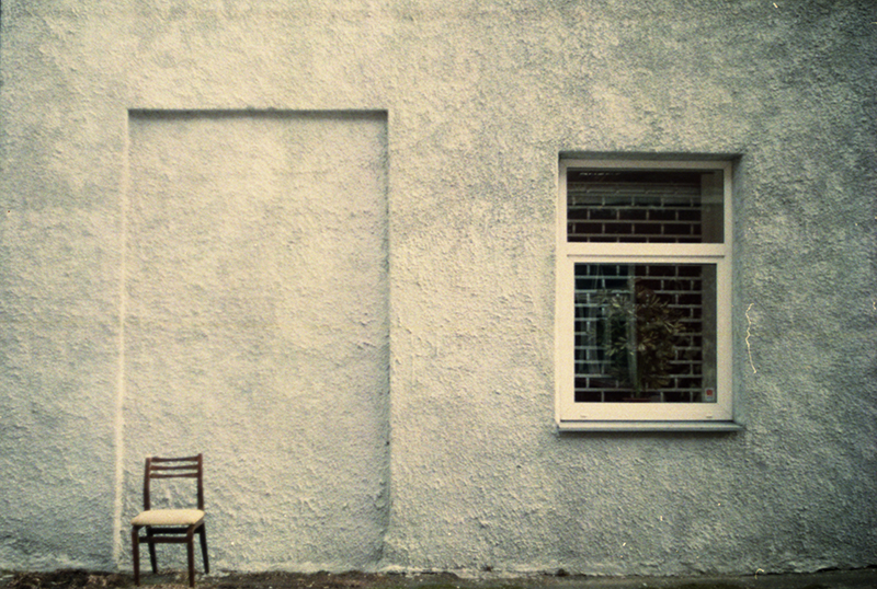 chair and window